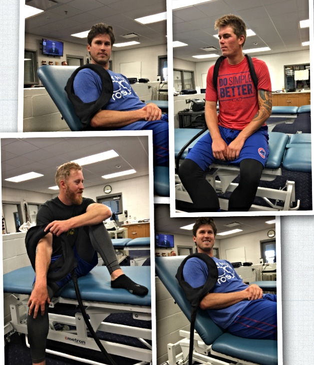 chicago cubs players using pulsed energy technologies